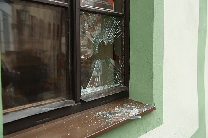A2B Glass are able to board up broken windows while they are being repaired in Romford.